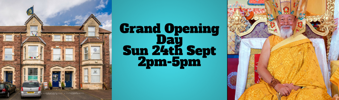 Grand Opening Day Sun 24th Sept